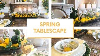 SPRING TABLE DECORATIONS IDEAS | SPRING DECORATE WITH ME 2020