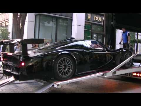 Maserati MC12 Supercar Sighting in Japan