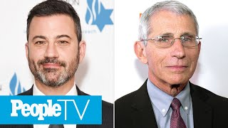Jimmy Kimmel Praises Dr. Anthony Fauci's Pandemic Service: 'Doesn't Sugarcoat His Words' | PeopleTV