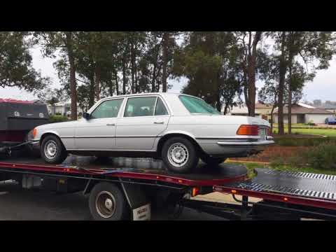 W124 Axle Removal