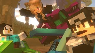 TIME TO RACE in 360° Degrees! 4K [Hypixel Turbo Kart Racers] (Minecraft)