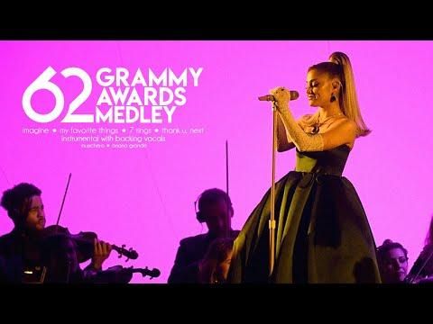 Ariana Grande - 2020 Grammy Awards Medley (Studio Version) [Instrumental w/ Backing Vocals]