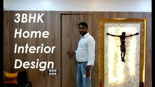 3BHK Home Interior Design -  Mumbai 1000 Sq Ft By CivilLane.com