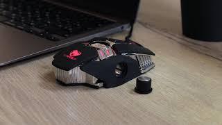 Мышь проводная T-Wolf V10 черный