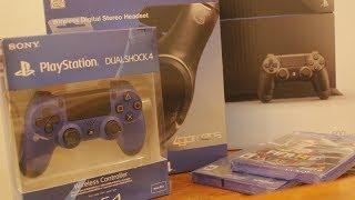 انبوكسنق بلايستيشن 4 : Playstation 4 Unboxing