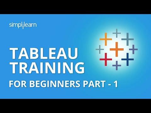 Tableau Training For Beginners Part - 1 | Tableau Tutorial Part - 1 ...