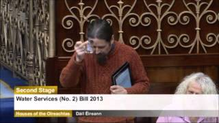 newstalk luke ming flanagan produces piss water to minister in dail