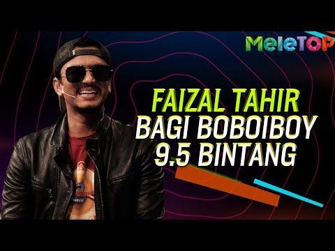 Faizal Tahir bagi Boboiboy 9.5 bintang | MeleTOP | Nabil | Khai Bahar | Siti Nordiana