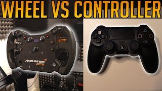Wheel or Controller - Which is Better? (Gran Turismo Sport)