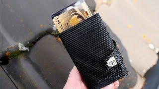 Slim Wallet mit viel Platz & RFID Schutz in schlankem Format // TRU VIRTU Click & Slide //DEUTSCH
