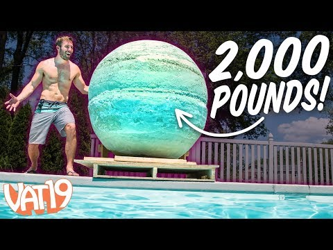Building the World's Biggest Bath Bomb