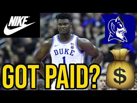 Did Nike Pay Zion Williamson To Go To Duke?