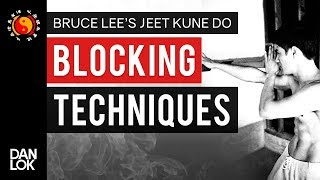 Bruce Lee JKD Blocking Techniques
