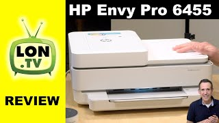 HP ENVY Pro 6455 / 6055 Color Ink Jet Printer & Scanner Review