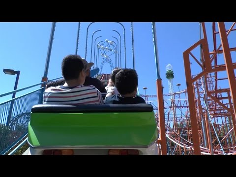 Galaxi (POV) – Cliffs Amusement Park (HD)