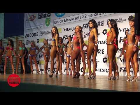 Debiuty Kulturystyczne 2014 cz.3 - Kategoria bikini-fitness