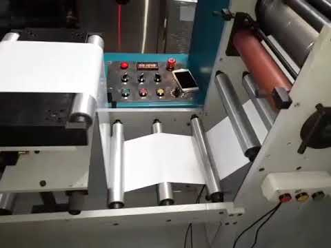 Rotary Label Die Cutting Machine RE-RDC-300