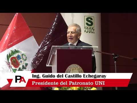 Ceremonia de Reconocimiento al Presidente del patronato UNI Ing. Guido del Castillo
