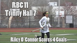 Red Bank Catholic 11 Trinity Hall 7 | Riley O'Connor 4 Goals