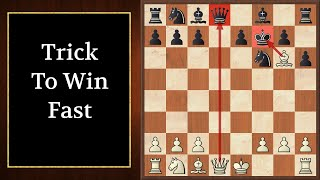 Chess Opening TRAP To Win FAST (Tennison Gambit) Strategy And Tricks