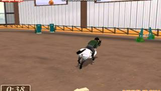 show jumping game horse