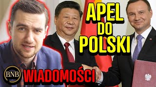 Chiny OFICJALNIE DO POLAKÓW – Nie wierzcie Trumpowi! | WIADOMOŚCI