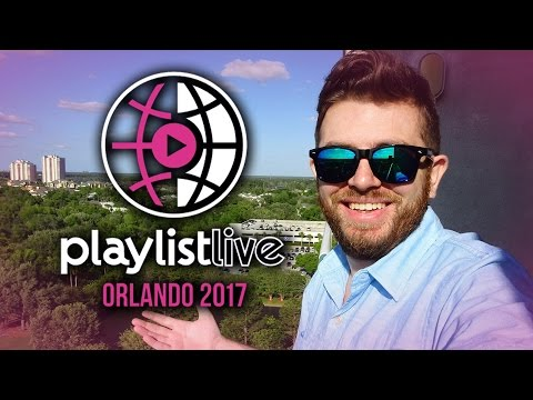 Jon & Jory @ The 2017 Playlist Live YouTube Convention In Orlando, FL