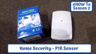How To Wire a Security PIR Sensor