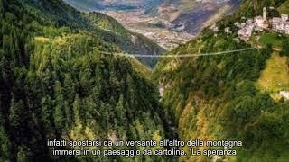Notizie calde: Valtellina, inaugurato il ponte tibetano più alto d'Europa