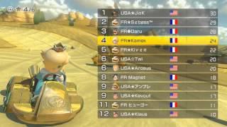 [MK8] World Cup 2014 : France vs. USA - 1/2 Final Winners' Bracket (room 1)
