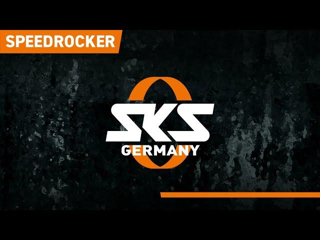 Видео Велосипедные крылья SKS Speedrocker black