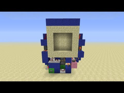 & Super Compact 3x3 Piston Door Minecraft Project pezcame.com