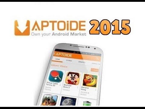 Descargar APTOIDE v 6.5.2 actualizado para Android 2015 (.apk) para celular #Android