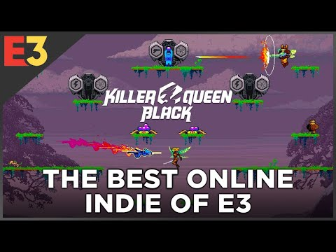 The BEST Online Mechanic at E3: Killer Queen Black   Polygon @ E3 2018