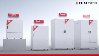 Klimatizační komory Binder KBF, KBF-S