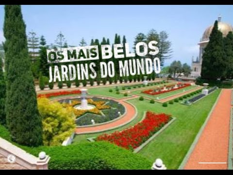 Esse é o Jardim Mais Lindo do Mundo