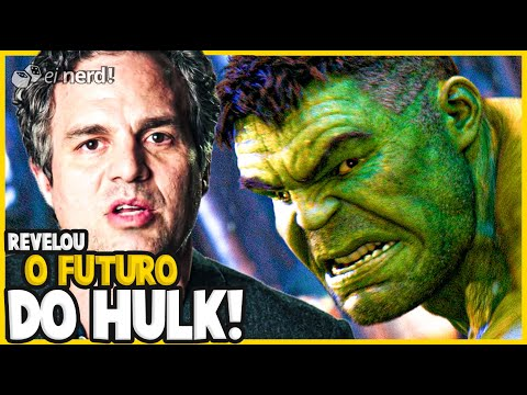 MARK RUFFALO REVELA O FUTURO DO HULK NO UCM