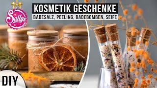 DIY Geschenkidee / 4 Weihnachtsideen / Badebomben