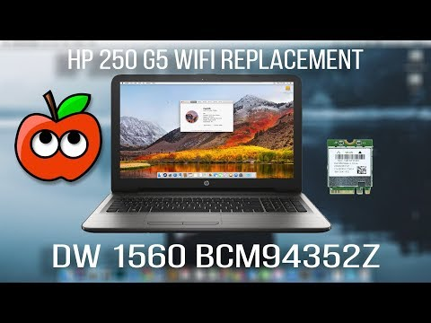 How To Set UP DW1560 BCM94352Z Dual Band Wifi and BT4 0 On