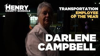 Darlene Campbell - 2018 HCS Hero - Transportation Employee OTY