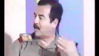 الشهيد صدام حسين كلام قالة لايقولة الا الرجال