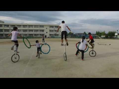 八田荘小学校一輪車クラブ演技:堺一輪車連盟