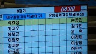 2019 용인대총장기 전국중고등학교검도대회 고등부 단체전 대구공고 VS 온양용화고