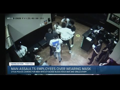STUPID: Utica police looking for man in connection to mask-related assault at restaurant