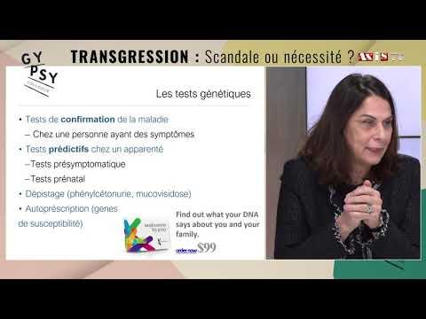 Vidéo Alexandra DURR : L'information génétique est-elle un risque ? Et comment la dire ?