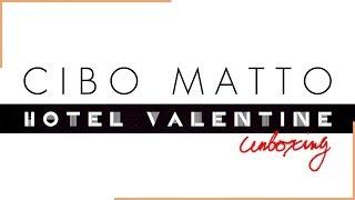 Cibo Matto Hotel Valentine unboxing