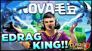 *BEST IN THE WORLD?* They used EDrags to get 3 Stars?!? | Clash of Clans