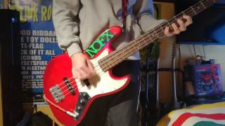 Choking Victim - Crack Rock Steady BASS Cover