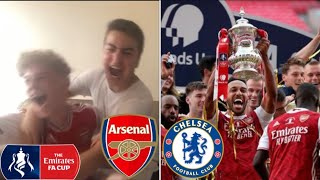 ARSENAL 2-1 CHELSEA FA CUP FINAL MATCHDAY VLOG, LIVE REACTION & HIGHLIGHTS! - FEATURING AFTV!