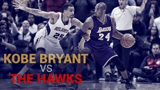Kobe Bryant Vs. Atlanta Hawks by Lakers Nation